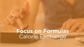 Calorie Exchange