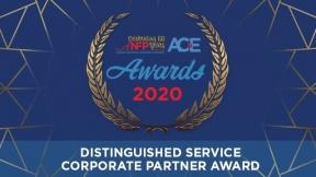 2020 Distinguished Service - Corporate Partner Award