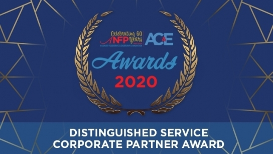 2020 Distinguished Service - Corporate Partner Award