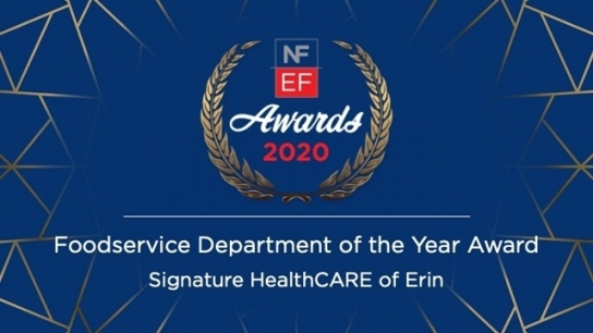 2020 NFEF Foodservice Department of the Year Award