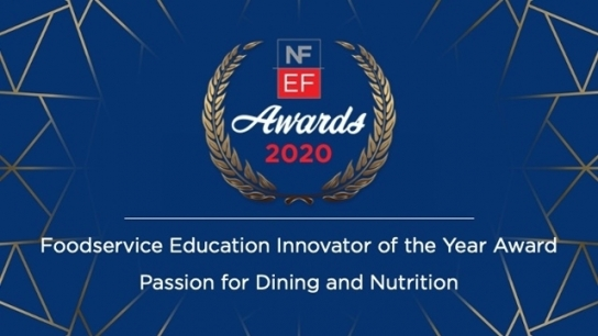 2020 NFEF Foodservice Education Innovator of the Year Award