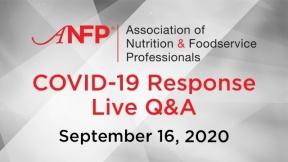 COVID-19 Live Response Q&A Webinar - September 16, 2020