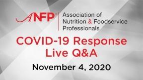 COVID-19 Live Response Q&A Webinar – November 4, 2020