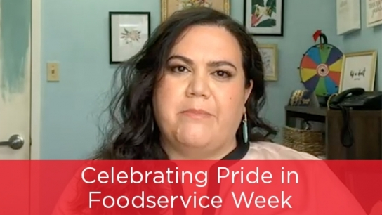 Celebrating Pride in Foodservice Week
