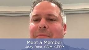 Meet a Member - Joey Rost, CDM, CFPP