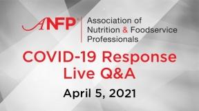 COVID-19 Live Response Q&A Webinar – April 5, 2021