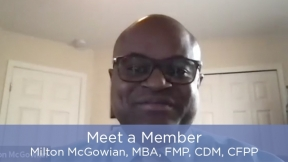 Meet a Member - Milton McGowian, MBA, FMP, CDM, CFPP