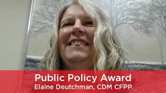 2021 Public Policy Award
