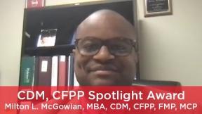 2021 CDM, CFPP Spotlight Award