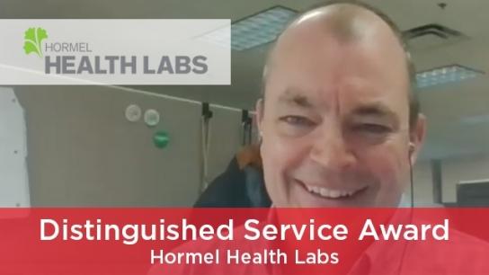 2021 Distinguished Service Award (Corporate Partner) - Hormel Health Labs