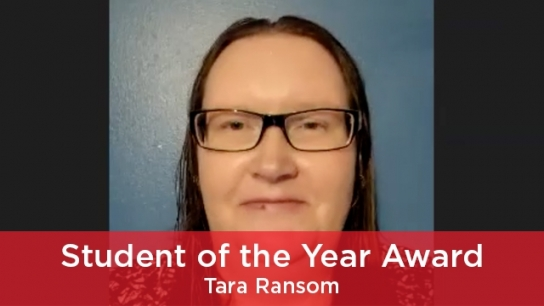 2021 Student of the Year Award
