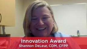 2021 Innovation Award - Shannon DeLeur, CDM, CFPP