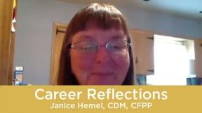 Career Reflections - Janice Hemel, CDM, CFPP