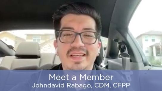 Meet a Member - Johndavid Rabago