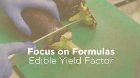 Edible Yield Factor