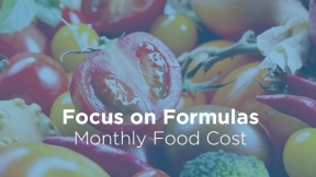 Monthly Food Cost