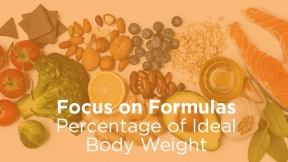 Percentage of Ideal Body Weight